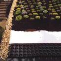PMI PM-S20 perforált felületszivárgó lemez zöldtetőhöz 20 mm - 1000 g/m2