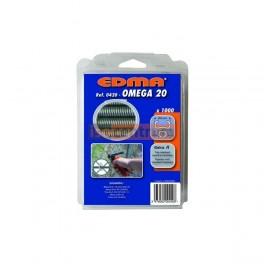 Omega 20 galvanizált gyűrű - 1000db
